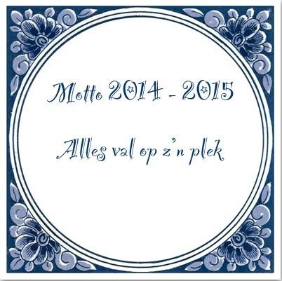 Motto 2014 - 2015
