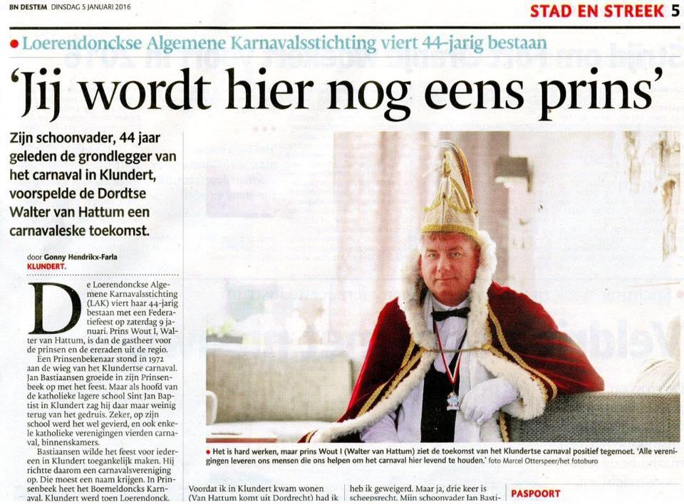 Uit de krant BN de Stem – www.loerendonck.net Joetjoep