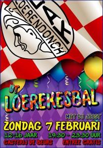 Loerekesbal flyers